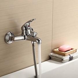 Bathtub Tap / Shower Tap - Contemporary Brass (Chrome)