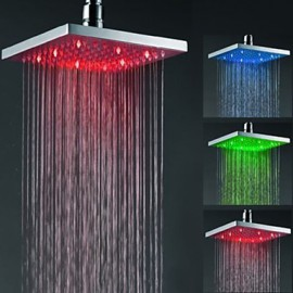 Top Spray Shower Nozzle Color Temperature Control