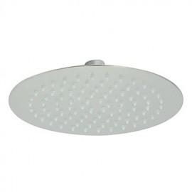 """8"""" Modern Design Ultrathin Stainless Steel Round Shower Head"""
