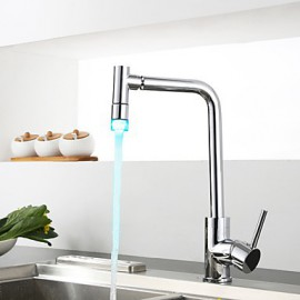 Centerset Single Handle One Hole with Chrome Kitchen Tap