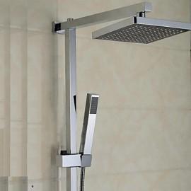Elegant Shower Tap with 8 inch Shower head + Hand Shower