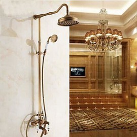 Shower Tap Antique Rain Shower / Handshower Included Brass Antique Brass