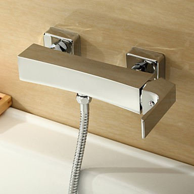 Shower Tap Centerset Wall Mount With Chrome Single