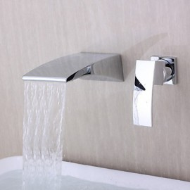 faucetsuperdeal bathtub chrome faucet com finish faucets two waterfall handles