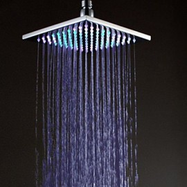 Colorful Color light Shower Nozzle Top Spray Shower Nozzle