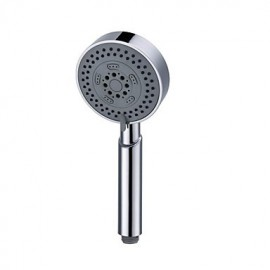 Contemporary 5 Functions Pressurize Circle Bubble ABS Hand Shower