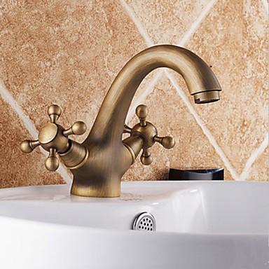 Antique Inspired Bathroom Sink Faucet