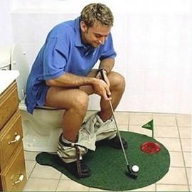 Bathroom Gadgets Pc Plastic Boutique Novelty Golf Toilet - Golf bathroom accessories