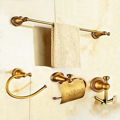 Bathroom Accessory Set 1set High Quality Antique Brass Bathroom