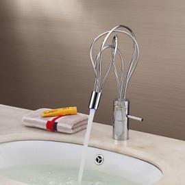 Color Changing LED Bathroom Sink Tap - Chrome Finish