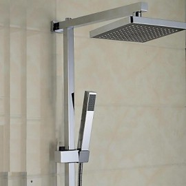 Elegant Shower Tap with 8 inch Shower head + Hand Shower