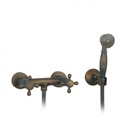 Shower Tap Antique Handshower Included Brass Antique Brass