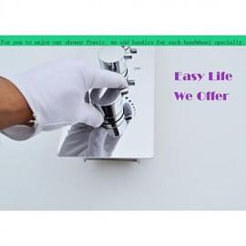 Shower Tap Contemporary LED / Rain Shower / Sidespray / Handshower Included Brass Chrome